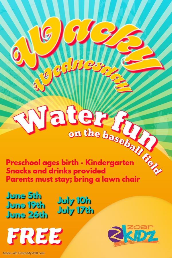 Wacky Wednesdays - Preschool (Birth - K)