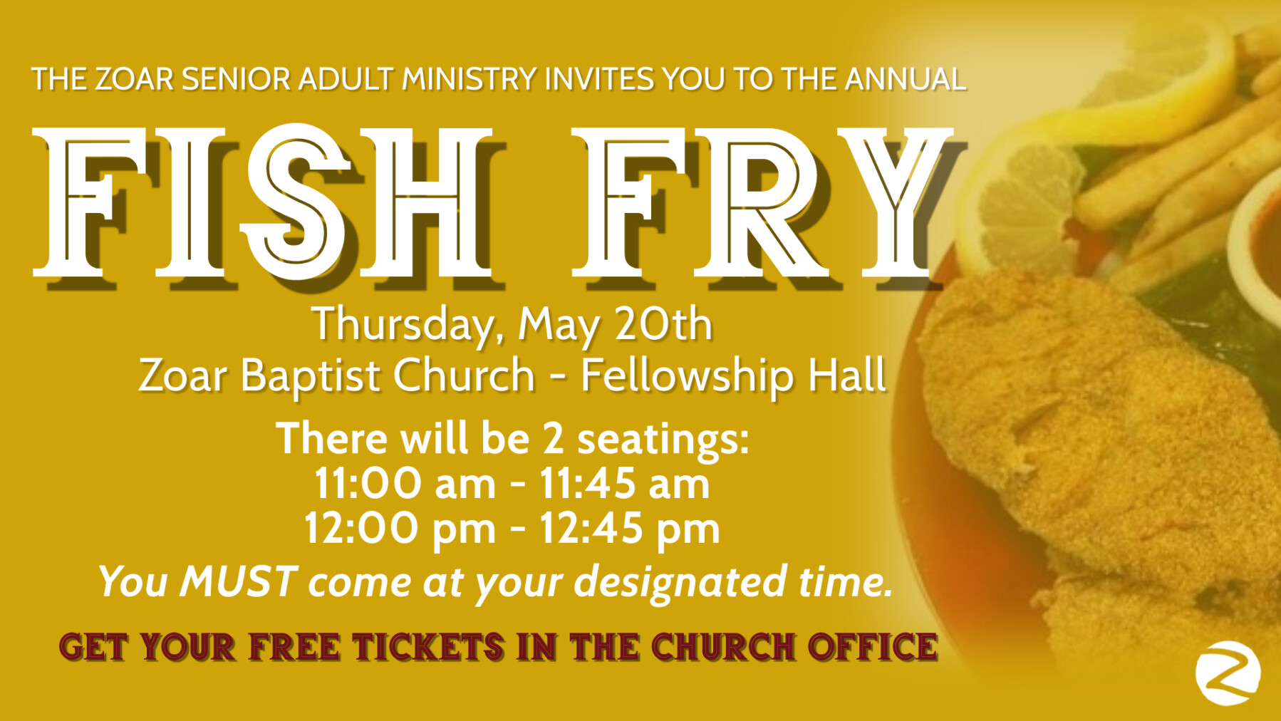 Fish Fry (FH)all sections