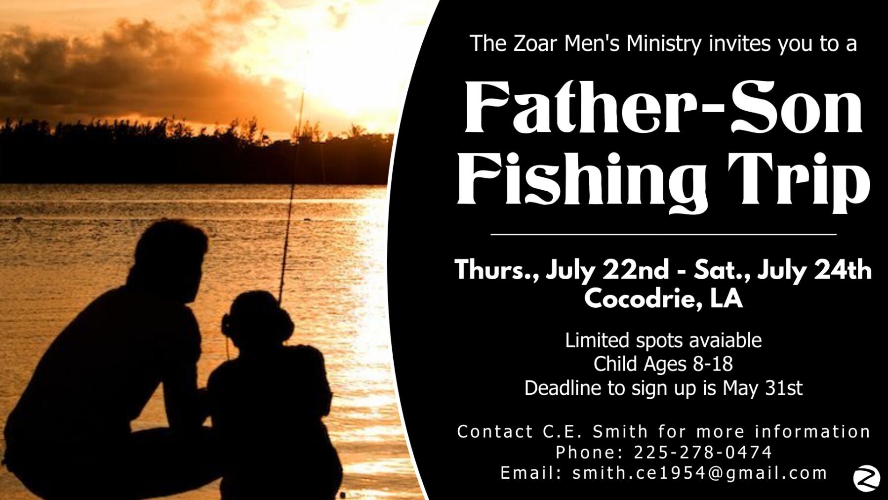Father-Son Fishing Trip